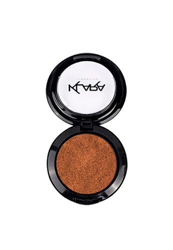 KLARA COSMETICS brown Shimmer Eyeshadow #6 - Glowing Copper E5EACBED71D43BGS_1