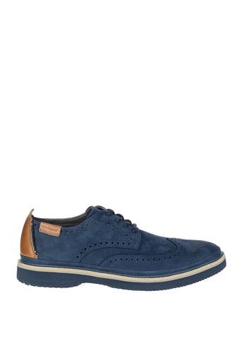 Hush Puppies navy Samme Bernard Casual Shoes 249D7SH65B6434GS_1