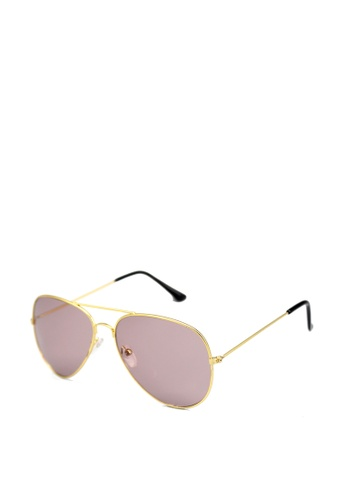 Peculiar and Odd black Retro Style Classic Aviator Sunglasses 3025 PE789GL0ISTOPH_1