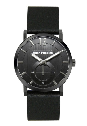 Hush Puppies Freestyle Men's Watch HP 3628M.2502 Black Black Leather