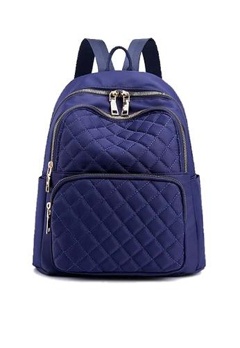 Twenty Eight Shoes blue VANSA Diamond Stitching Oxford Backpacks VBW-Bp6628 D6110AC0AC9367GS_1