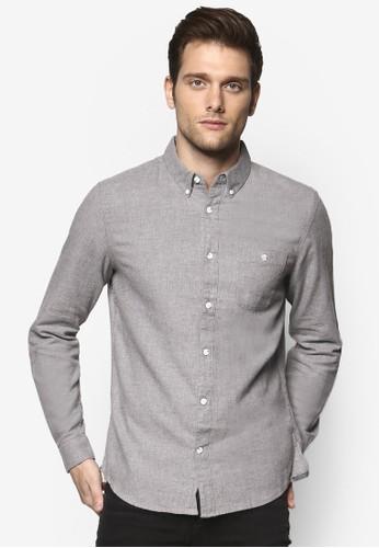 斜紋長袖襯衫,esprit outlet尖沙咀 服飾, 襯衫