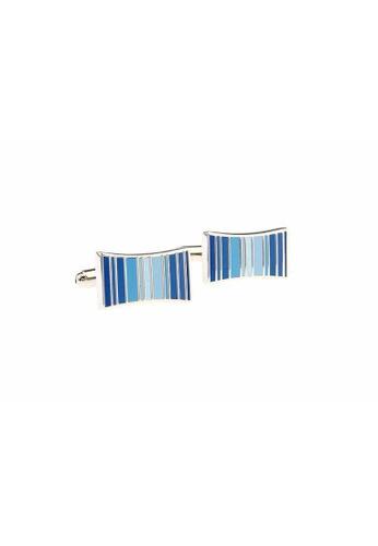 The Little Link Cufflinks blue Blue Stripes cufflinks TH089AC0FT7OSG_1