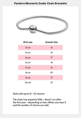 Buy Pandora Pandora Moments Rose Multi Snake Chain Bracelet Online Zalora Malaysia