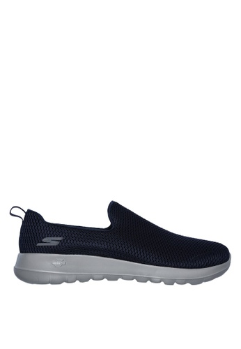 Skechers navy Go Walk Max Slip-Ons 18534SHF05ACEBGS_1