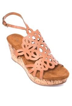 Divina Wedge Sandals