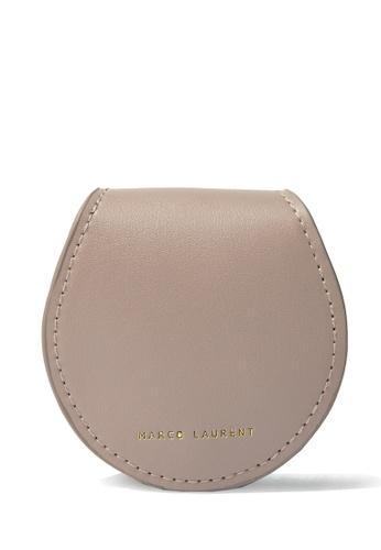 MARCO LAURENT brown Horseshoe Coin Purse 247D8AC1E1BA2DGS_1