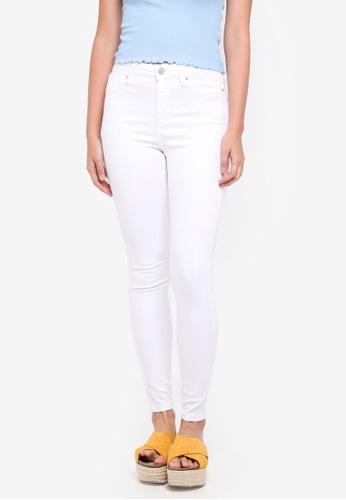 Miss Selfridge white White Skinny Fit Lizzie Jeans 248D4AA1681E7CGS_1
