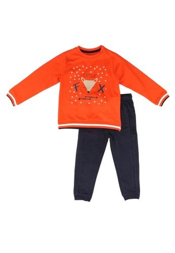 Babybol orange 2 Pieces Kids Set 7DAE3KA2B43842GS_1
