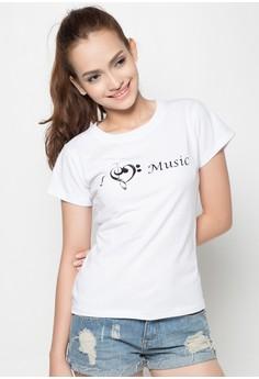 Ladies I Love Music T-Shirt