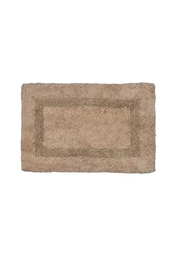 Charles Millen beige SET OF 2 Charles Millen Suite Boundary Tufted Bath Rug ( 40cm x 60cm )360g. 0A87FHL82F4196GS_1