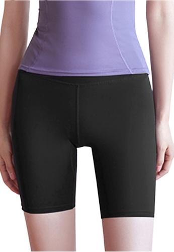 Sunnydaysweety black High Waist Stretch Bike Shorts A081023BK AAF2DAA609FB8FGS_1