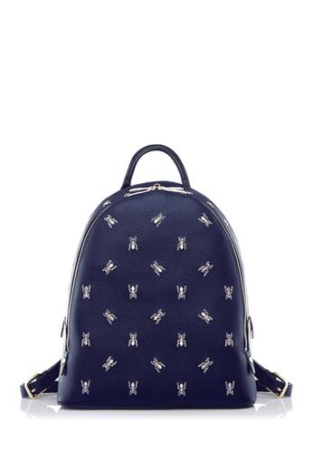 BONIA blue Dark Blue The Nazca Backpack S BO710AC0U9A0ID_1