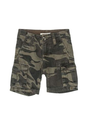 FOX Kids & Baby green Lightweight Camo Print Shorts 40D98KA5F718BFGS_1