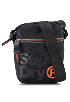 Superdry black LINEMAN SUPER SIDEBAG 6AAD5ACAD4BB86GS 1 81ffcd0ca9597