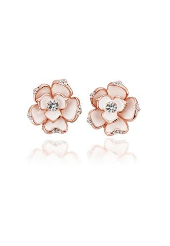 ADORA gold Flower Earrings 9C091AC57E9F0AGS_1