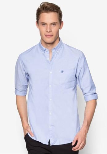 牛津長袖襯衫, 服esprit招聘飾, 服飾