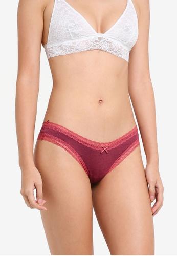 Cotton On Body red Super Soft Brasiliano Brief 4042EUSB48A834GS_1