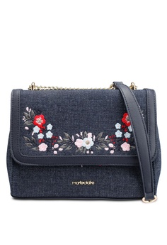 caf057341d7d Marie Claire blue Small Embroidered Sling Bag 65D1DAC3D2485DGS 1