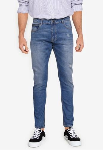 Aeropostale blue Skinny Fit Jeans FA424AAF50B9B0GS_1