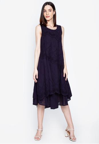 BLUSA navy Hannah Dress E188EAA13066E4GS_1