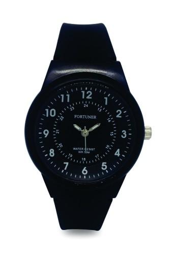 Fortuner black Fortuner Watch Jam Tangan Wanita FR JA 500 - Black 69EB5ACBE226B0GS_1