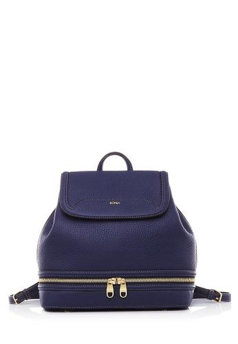 BONIA blue Blue Guilietta Backpack BO777AC65HFEMY_1