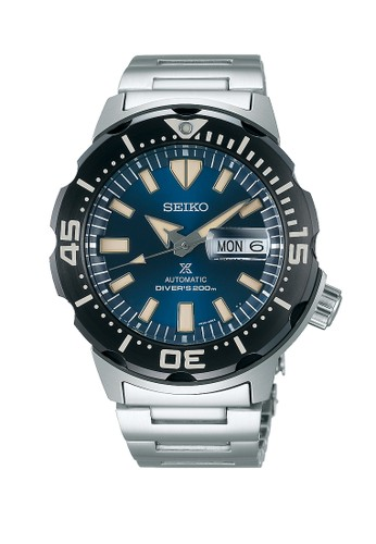 Seiko blue and silver Seiko Prospex SPRD25K1 Silver Blue A31B2ACD4F6901GS_1