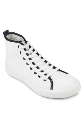 基本款高esprit官網筒帆布鞋, 鞋, 休閒鞋