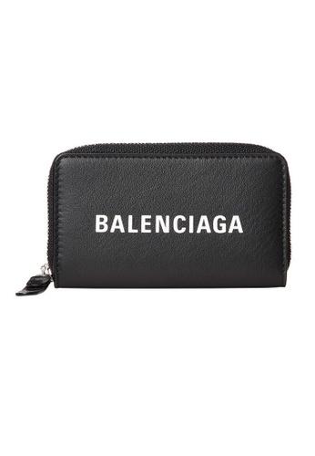 BALENCIAGA black Balenciaga Everyday Card Holder in Black for UNISEX AE186AC9E82E0BGS_1