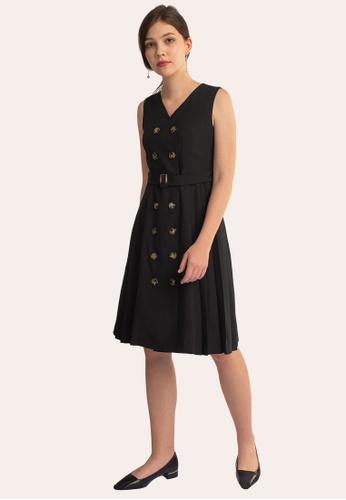 L'zzie black LZZIE NAOMI DRESS - BLACK 93D86AA1099AEDGS_1