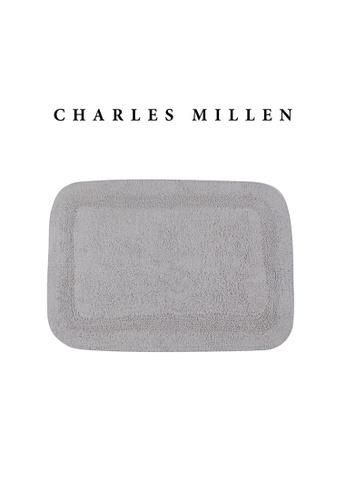 Charles Millen SET OF 2 Charles Millen Suite BR-159 Charlie Tufted Bath Rug ( 43cm x 61 cm ) 550g. BC30FHL81B9ED7GS_1