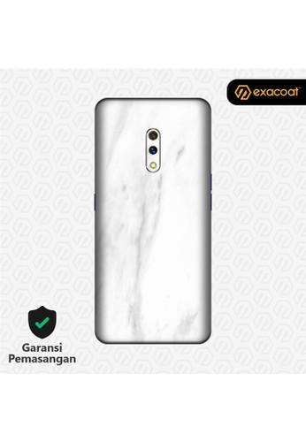 Exacoat Realme X 3M Skins Stone Series - Marble White FA3C4ES06E8FB9GS_1