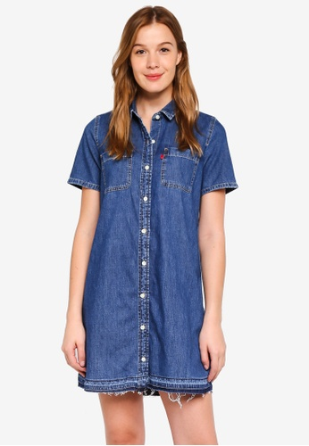 Levi's blue Andie Dress 75367AA8026EE1GS_1