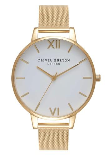 Olivia Burton gold WHITE DIAL Gold 38 mm Women's Watch 35FD0ACACEE29BGS_1