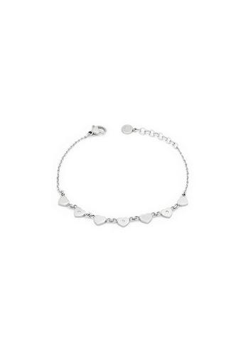 Morellato silver Insieme Bracelet SAHM10 Stainless Steel Crystals 483D6ACF6914C8GS_1