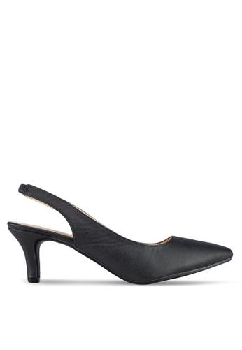 Spiffy black Evening Formal Heels ADE62SH14B10A0GS_1