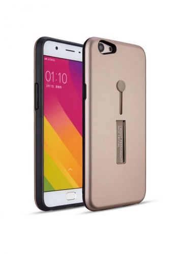 online retailer 51482 62818 Armor Case with Ring Phone holder and Stand for OPPO A83