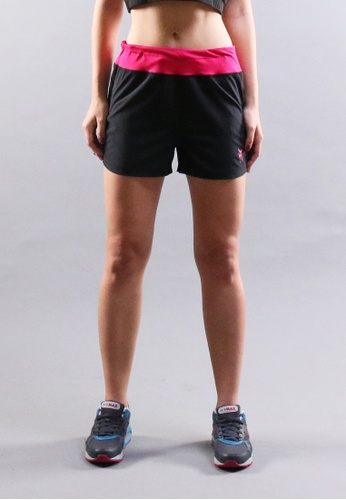 AMNIG black Core Motion Running Shorts AM133SE66MYNMY_1