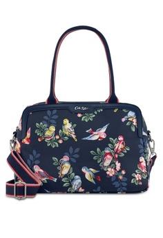 ff27ef7ea3 Cath Kidston navy Spring Birds Samson Bag 3CAFCAC3DE1C4DGS 1