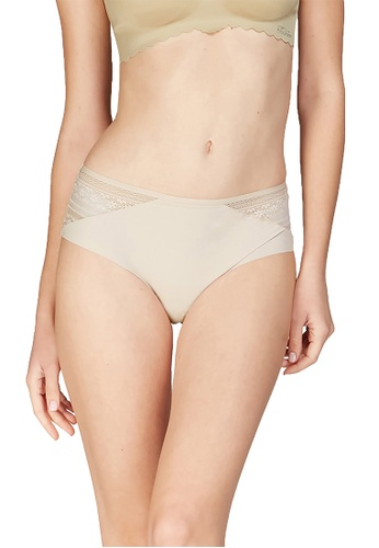 6IXTY8IGHT beige BROOKIE SOLID, Soft Micro Hiphugger Panty PT09403 74223US5D353ECGS_1