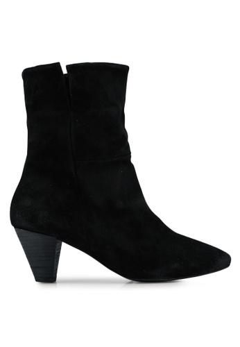 Free People black Adella Heel Boot AA033SH9A675EAGS_1