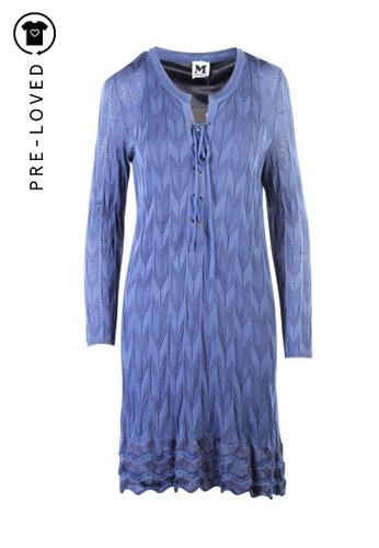 Missoni blue Pre-Loved missoni Knitted Dress E73CBAA965296CGS_1