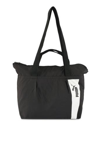 Puma black Core Style Large Shopper Bag PU549AC0SWCIMY_1