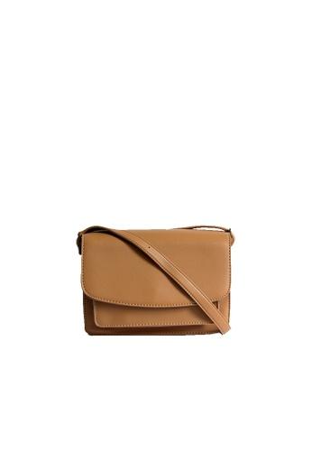 GreyPlus brown Helva Crossbody Classic Bag 9D1F3ACAB54906GS_1