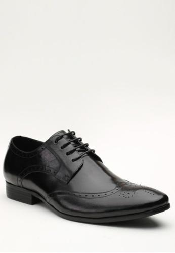 Kings Collection black Windsor Oxford Shoes KI877SH53ZJYPH_1