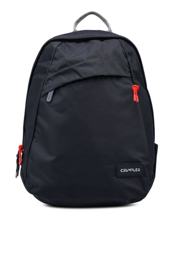 CRUMPLER grey and blue Idealist Backpack 51086ACCC8CB5DGS_1