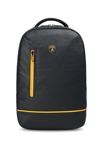 Lamborghini black Automobili Lamborghini® Galleria Black Backpack F2BDAACE02A393GS_1