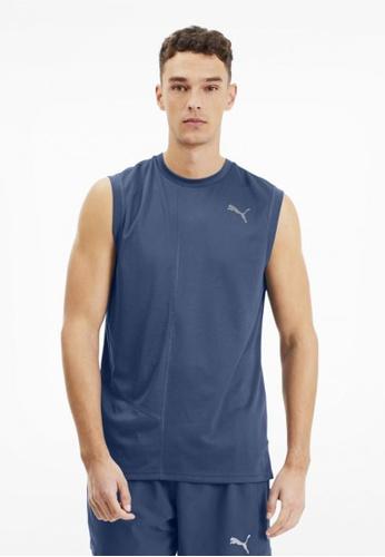 Puma blue IGNITE Men's Running Tank Top 864E9AA94F7E9AGS_1