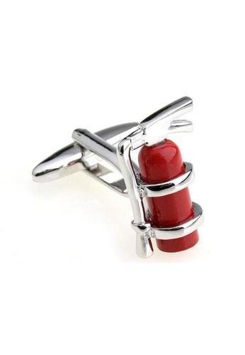 The Little Link Cufflinks red Fire Extinguisher cufflinks TH089AC0G4XJSG_1